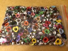 Lot of 500+ Mixed Size Eyelets Embellishments Hearts Flowers Circles Ovals