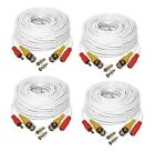 100FT Security Camera Video Cable BNC RCA Wire for DVR CCTV Surveillance Cable