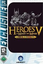 HEROES OF MIGHT AND MAGIC 5 + 2 AddOns = Gold ** Sehr guter Zustand