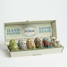 Jim Shore 2015 Character Easter Eggs Set/12 #4051405 NIB
