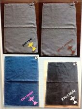 Personalised golf towels Ideal Gift