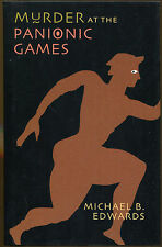 Murder at the Panionic Games by Michael B. Edwards-First Edition/DJ-2002
