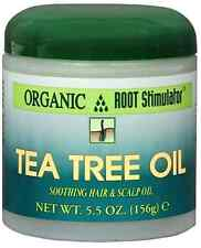 Organic Root Stimulator Tea Tree Hair and Scalp Oil, 5.5 oz
