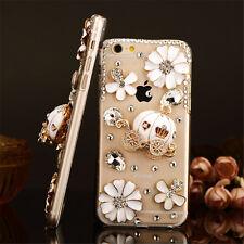 Glitter Luxury Bling Diamonds Crystal hard Back PC Case Cover Skin For  HTC-1