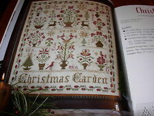 BLACKBIRD DESIGNS CHRISTMAS GARDEN IN HOME FOR THE HOLIDAYS CROSS STITCH NEW BK