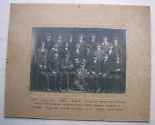 Studenten Oberrealschule Flensburg Prima 1923 / 24 studentische Verbindung