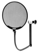 "NEW Stedman PROSCREEN XL Microphone POP FILTER 6"" Inch Mic Screen w/ Boom Clamp"
