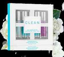 CLEAN Rollerball Warm Cotton Cool Cotton Rain Skin Air .17 oz Lot EDP SET of 5