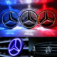 Sport Front Illuminated LED Ligh Grille Star Emblem For Mercedes Benz 2006-2013