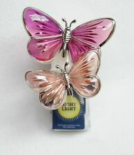 Bath Body Works Wallflower PINK BUTTERFLY Night Light Diffuser Unit Plug Holder