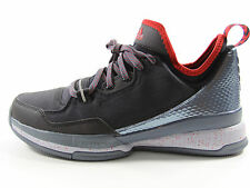 Adidas D Lillard 1 Damian Tech Fit Basketball Shoes Size 11.5 (Black/Red/Silver)