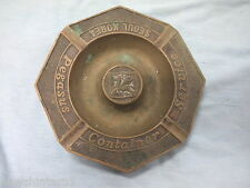 #DD.  BRASS  SHIPPING ASHTRAY, PEGASUS CONTAINER SERVICES, SEOUL, KOREA