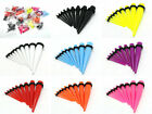 ACRYLIC EAR TAPERS STRETCHERS STRETCHING KIT EXPANDERS SET COLOURED TAPER SET