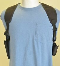 Double Cell Phone Shoulder Holster for iPhone 4 & iPhone 5 with Wallet Pouch