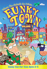 Funky Town - Volume 1 (DVD, NEW, 2008) Where the Animals Go Urban !!!