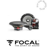 "FOCAL ACCESS 165AS 6.5"" 16.5CM 165MM 120 WATT 2 WAY COMPONENT KIT SPEAKERS"