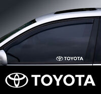 2 x Toyota Window Decal Sticker Graphic *Colour Choice*