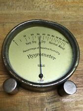 Vintage Brass Hygrometer Selsi Germany