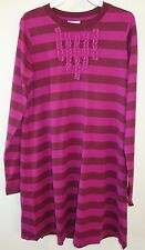 NWT Hanna Andersson Russet/Plum Tunic Dress ~ Size 160, 12-teen