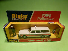 DINKY TOYS 243 VOLVO POLICE CAR - RARE SELTEN - GOOD CONDITION IN BOX