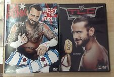 WWE: CM Punk - Best in the World (DVD, 2012, 3-Disc Set)& TLC DVD Lot! Tested!