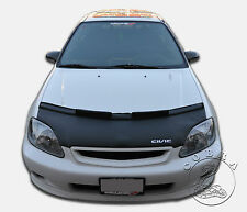 Honda Civic BRA HOOD MASK 99 00 EK Custom Bra Car Bonnet Mask + CIVIC LOGO