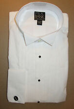 Jos A Bank Classic collection formal tuxedo dress shirt wing collar 16  - 34