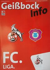 Geißbock Info 2006/07 1. FC Köln - Erzgebirge Aue