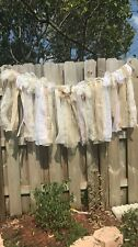 Burlap Wedding Backdrop Garland Reception Lace Party Rustic Shabby Chic
