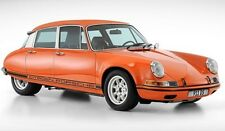 BRANDPOWDER Porsche Citroen 911 DS orange 1/333 Resin Autocult 1:18