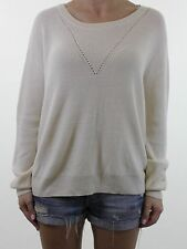 BNWT VERO MODA @ ASOS cream long sleeve jumper size M 12 euro 40 NEW £30