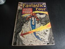 FANTASTIC FOUR #47 1ST APP.MAXIMUS THE MAD AND 1ST MENTION GALACTUS!3RD INHUMANS