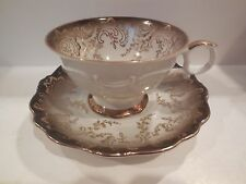 EBERTHAL #2786 FOOTED CUP & SAUCER SET MADE IN GERMANY