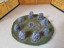 Warhammer Fantasy Terrain: Standing Stones with Pool