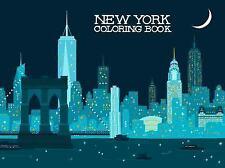 New York Coloring Book by Gloria Fowler (2015, Paperback)