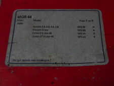 Classic ford consul (sweeny moteur)/granada mk i frein arrière chaussures mintex MGR44