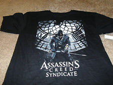 Assassin's Creed Syndicate Mens Video Game X-Box Black T-Shirt Large L