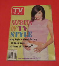 1996 TV GUIDE TIFFANI-AMBER THIESSEN OF BEVERLY HILLS 90210 FREE SHIPPING