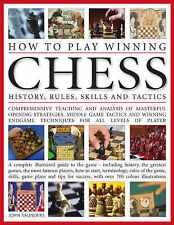 """""""Learn to Play Winning Chess"""" Large Hardback by John Saunders, New imperfect"""