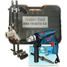 SOUBER MORTICE LOCK FITTING JIG DBB Jig 1 + Bosch 13RE Hammer Drill 110v