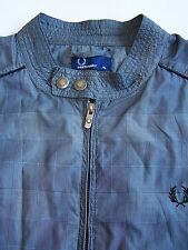 Fred Perry J3224 Jacket Men's XL Extra Large Grey Windbreaker Vintage ITAx535 #