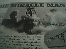 film item 1950 article miracle man marathon gordon cole