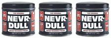 (3) Original (Never) Nevr-Dull Magic Wadding Polish 5oz Remove Tarnish Hardware*