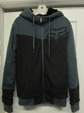 FOX RACING SASQUATCH HOODIE JACKET SWEATSHIRT MOGUL FLEECE MX SNOWBOARD MEN S