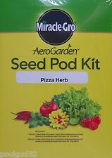 Miracle-Gro AeroGarden Pizza Herb Seed Kit 7 Pod Hydroponics 1 season  nutrient
