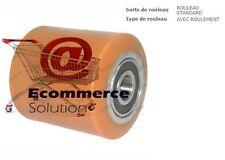 GALET ROUE PORTEUR SIMPLE 85 100 100 20 mm avec ROULEMENT PIECE TRANSPALETTE