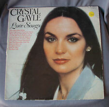 """Vinilo LP 12"""" 33 rpm CRYSTAL GAYLE - LOVE SONGS  - Long Playing Record"""
