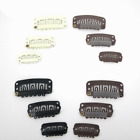 10-50 PCS SNAP CLIPS FOR HAIR WIG WEFT GRIPS 2.9cm 3.3cm
