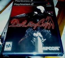 DEVIL MAY CRY 1 ONE PS2 BLACK LABEL RETAIL GAME YFOLD FACTORY SEALED BRAND NEW
