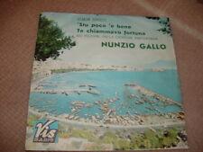 """NUNZIO GALLO """" 'STU POCO 'E BENE """" XIV FESTIVAL DI NAPOLI ITALY'66"""